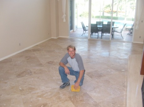 18 X18 Honed And Filled Travertine Sailfish Point