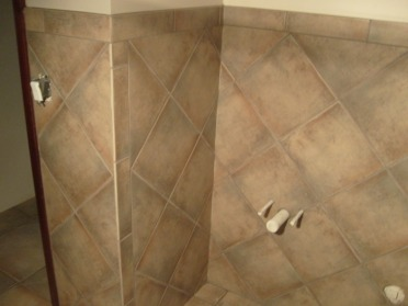 Very Durrable Tile With Taupe Grout