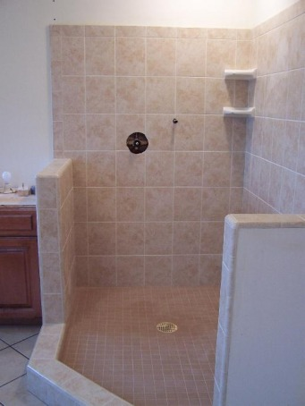 Bathroom Pictures Phils Tile - 6 inch bullnose tile